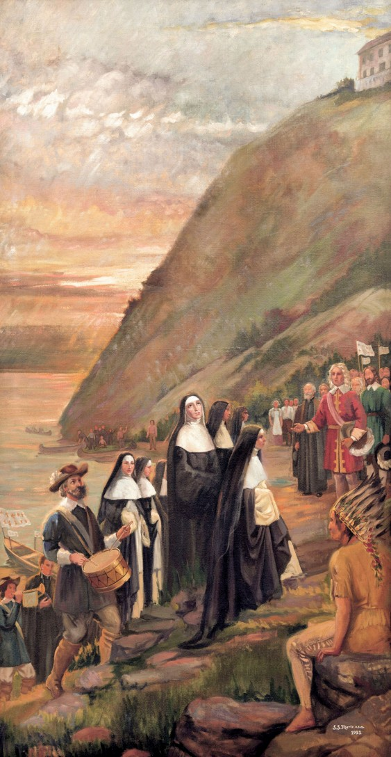 Arrival of the Augustines - August 1st 1639